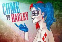 To Harlequinades With Mad Love / #HarleyQuinn #HarleenQuinzel #ArkamCity #DCcomics #Batman #TheJocker