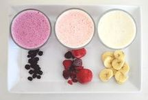 Only Eat Good Food / Easy & Healthy Recipes ~ Smoothie Ideas ~ College Budget Meals / by Organizing my O.C.D.