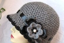 chochet hat ...gorros tejidos
