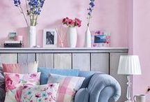 Interiors | Living Room / Inspiration for creating a light and colourful living room.  Sparklesoflight76.blogspot.co.uk