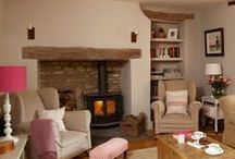 Stoves / The ultimate accessory for cosy country living.  Sparklesoflight76.blogspot.co.uk