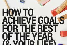 Goals, Productivity, etc. / Tips for making personal and professional goals or plans for 2017 and beyond