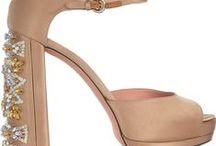 Beige shoes for women