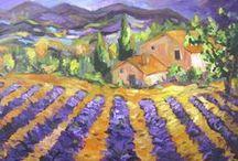 Art -  #1: Provence * Toscana