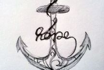 Tattoos / Tattoo ideas or placements I like and the things that I want done.