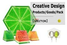 Creative Design. Products / Goods / Packaging