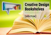 Creative Design. Bookshelves