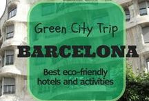 GreenCityTrip Barcelona / Info and reviews of eco-friendly, sustainable hotels, hostels, tours and travel activities in Barcelona, Catalonia (Spain)   http://greencitytrips.com/destination/barcelona