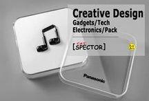 Creative Design. Gadgets / Tech / Electronics / Packaging