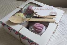 Chiribambola: cupcakes de ropita / Regalo de nacimiento.