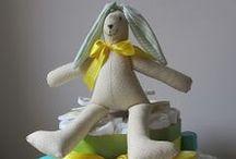 Chiribambola: tartas de pañales / Totalmente personalizadas. Entrega en Madrid (pedir presupuesto) chiribambola@gmail.com
