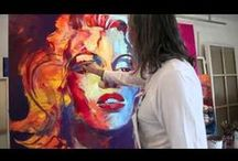 Art and Creations I Like / Art, watercolors, paintings, tile and mosaics, pretty creations