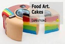 Food Art. Cakes