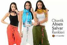 Otantik Ahsen Şalvar Modelleri 2015 / şalvar modelleri, kadın giyim