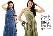 Otantik Güzide Elbise Modelleri 2015