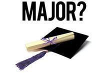 Major Selection / Helping your students choose a major