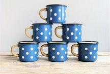 Cups, mugs and tea pots