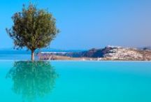 Breathtaking pools / The most amazing pools of the best boutique hotels and villas in Greece.