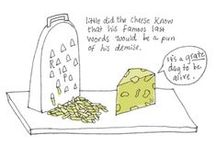 Funny Cheese / Cheesey jokes, cheesey sayings, cheesey everything...
