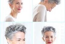 Wellbeing / Be happy in your skin.  Ditch the heavy make-up,  smile, relax and get a good haircut !