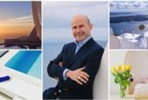 #ADayatAstraSantorini / Enjoy a day at Astra Suites in Santorini with the General Manager, George Karayiannis