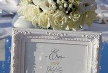 Wedding decoration - A la carte Santorini weddings / Wedding decoration ideas.