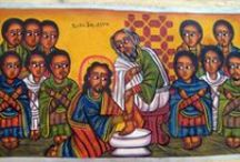 Religious Art : Ethiopian and Coptic Icons