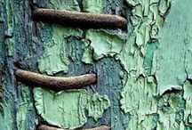 Ideas - #7: Textures / Textures in nature and on objects that give good ideas and inspiration for painting or patinas