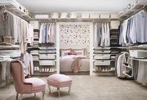 Wardroves I love / Closets ideas
