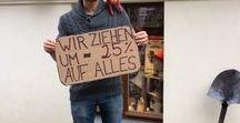 Unser Laden / Mittem im Prenzlauerberg in Berlin, in der Kastanienallee 22, haben wir im März 2013 den ersten Upcycling Concept Store Berlins eröffnet. Schaut mal vorbei!