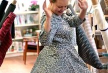 Liberty + Colette = Love / Beautiful colette patterns made with Liberty of London fabrics!