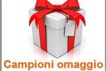 campioni omaggio / i campioni omaggio ricevuti