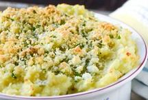 Side Dish Recipes / In a restaurant, I almost always order my main course based on the side dishes it comes with -- come on, so do you!  The sides are what make Thanksgiving and Christmas so awesome!  What other times do you get mashed potatoes AND stuffing?