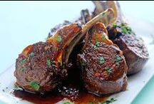 """Lamb Recipes / Lamb is one of those """"fancy"""" meats - it's always on the menu for Christmas and Easter, but we also like it grilled or braised.  It's my favorite """"other"""" red meat."""