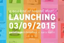 #PiHShop: A new kind of charity shop... / Our new online charity shop is now available, featuring a range of fabulous products from independent designers and makers. Check it out. www.paintingsinhospitals.org.uk/shop