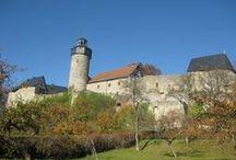 Sanspareil in Wonsees / Sanspareil in Wonsees (Landkreis Kulmbach in Oberfranken), Felsengarten und Burg Zwernitz
