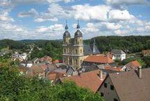Gößweinstein / Wanderung von Gößweinstein zur Burg Gaillenreuth, durch das Wiesenttal und über die Burg Gößweinstein zurück nach Gößweinstein und auf den Kreuzberg