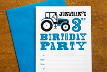 Blue Tractor Themed Party