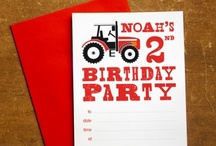 Red Tractor Themed Birthday