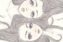 Ilustration / by Stefanie Caroline