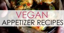 Vegan Appetizer Recipes / For all your party needs - or just for fun - here are tasty vegan appetizer recipes!
