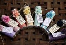 Personalized Mint Favors