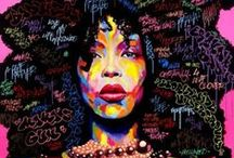 ♥ Hip Hop & World Music / Hip Hop helped raise me and has been influenced by both World and Motown music..