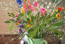 Flowers & threes
