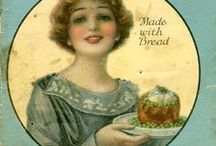 Food - Vintage Recipes/Ads / growinh pain / by Daisy Rose