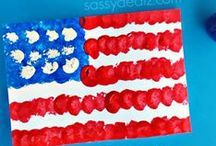 4th of July-PATRIOTIC DAYS / Crafts, Play, Learning, and Food Ideas for kids to celebrate the 4th of July, Memorial Day, Flag Day or anytime you are feeling patriotic. / by A Little Pinch of Perfect