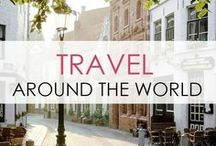 Travel : Around the World / Travel the world right from you laptop! All the places I've been & those I aspire to travel to. xoxo Kelly
