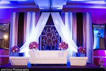 Stages & more / Reception,mehndi/henna, wedding stages and decor / by Nadia 🎀