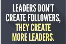 Leadership & Management / Wisdom, quotes, and articles from current leaders, as well as celebrated forefathers/foremothers, to learn how to become a better leader and manager.