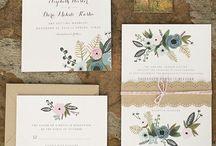 //wedding saves & invites / by Razie Alter